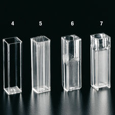 CUVETTE 4 FACES TRANSPARENT