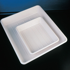 TRAY WHITE ABS 200X150X80MM