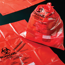 RED AUTOCLAVE BAG 48X61