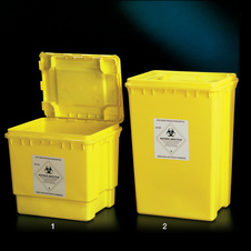 SQUARE SAFETY CONTAINER 30L